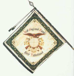 25-Fahne alt hinten